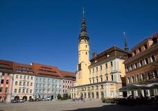 Bautzen, Germany. Center city Bautzen with town hall, Germany Stock Image