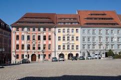 Bautzen, Germany. Center city Bautzen with historic houses, Germany Royalty Free Stock Photo