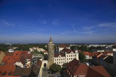 Bautzen Germany. View over the old town of Bautzen, Germany.  This 1000 year old city also know as the city of towers Stock Images