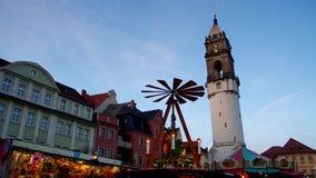 Bautzen julmarknad Arkivbild
