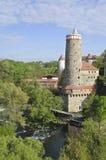 Bautzen-Kontrollturm Stockbilder