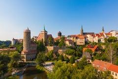 Bautzen, Lusatia supérieur, Allemagne Images stock