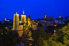 Bautzen at night Royalty Free Stock Photography