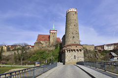 Bautzen in spring Royalty Free Stock Photography