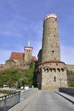 Bautzen in spring Royalty Free Stock Photo
