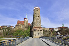 Bautzen in spring Stock Photos