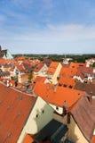 Bautzen-Stadt in Deutschland Stockfotos