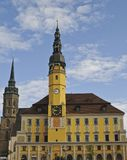 Bautzen Town Hall Royalty Free Stock Photos