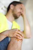 Bauunfall Lizenzfreies Stockbild