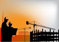 Bauvektorhintergrund mit ENV 10 stockfotos