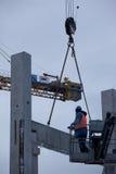 Bauversammlung Lizenzfreies Stockfoto