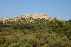 baux de les Провансаль стоковое изображение rf