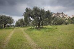 baux De Les Provence Zdjęcie Stock