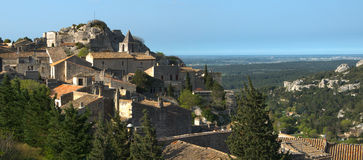 Baux de provence - France Royalty Free Stock Images