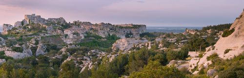 Baux de provence - France Royalty Free Stock Photo