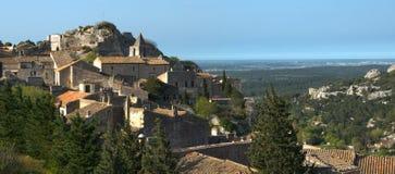 Baux de provence - Frankrike Royaltyfria Bilder