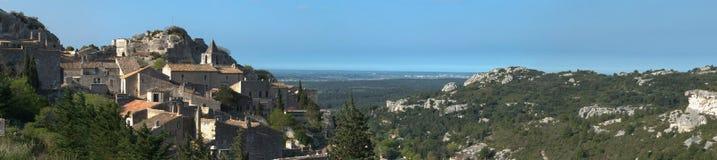 Baux de provence - Frankrike Arkivfoto