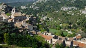 Baux de provence - Frankrike Arkivfoton