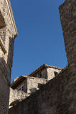 Baux de Provence roofs Royalty Free Stock Photography