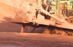 Bauxietmijnbouw stock foto