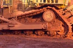 Bauxietmijnbouw Stock Afbeelding