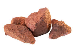 Bauxite. Is an aluminium ore Stock Photography