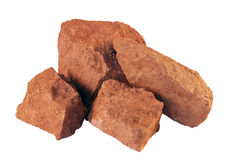 Bauxite. Is an aluminium ore Royalty Free Stock Image