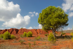 Bauxite mine Stock Images