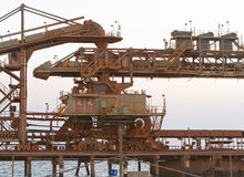 Bauxite mine Royalty Free Stock Photography