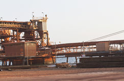 Bauxite mine Royalty Free Stock Photos