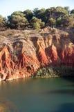 Bauxite See-Höhle Lizenzfreie Stockbilder