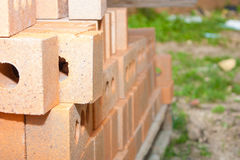 Bauziegelsteine Stockbilder