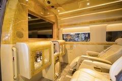BAV设计的豪华公共汽车内部 免版税图库摄影