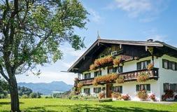 Bavaria. Typical old farmhouse in bavaria Stock Photo