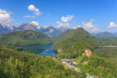 Bavaria Alps Royalty Free Stock Images