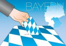 Bavaria Bayern voting ballot box Royalty Free Stock Photography