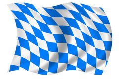 Bavaria Flag Stock Images