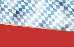 Bavaria Flag Background Royalty Free Stock Photos