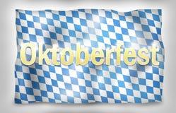 Bavaria Flag Design Royalty Free Stock Photography