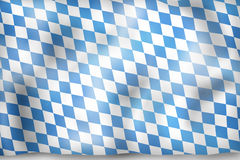 Bavaria Flag Design Royalty Free Stock Photography