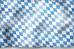 Bavaria Flag Design. Creative Graphic Illustration Design Royalty Free Stock Photography