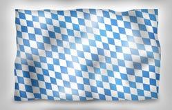Bavaria Flag Design Royalty Free Stock Image