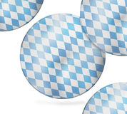 Bavaria Flag Design Stock Photo