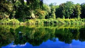 Bavaria, Germany Isar river waterfront Royalty Free Stock Photos