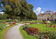 Bavaria, Germany - Lustheim Palace and the baroque garden Royalty Free Stock Image