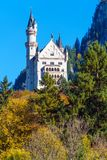 Bavaria, Germany - October 15, 2017:  Neuschwanstein Castle and Royalty Free Stock Photos