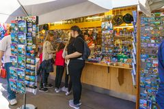 Bavaria, Germany - October 15, 2017: Souvenir shop near  Neuschw Royalty Free Stock Images