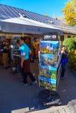 Bavaria, Germany - October 15, 2017: Souvenir shop near  Neuschw Stock Images