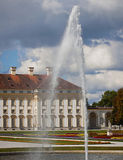 Bavaria, Germany - Schleissheim Castle, the baroque garden and t Stock Photography