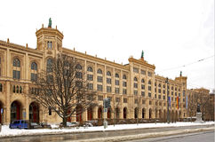 Bavaria government building in Munich.   Stock Photos